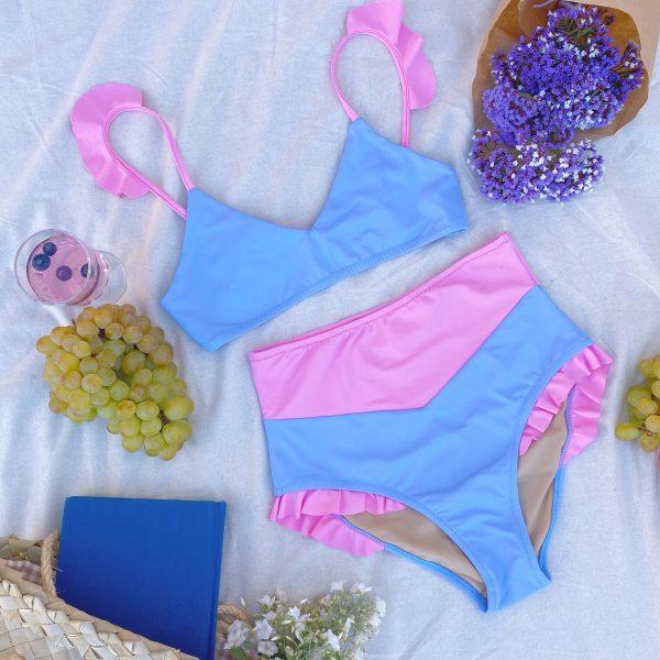 Bikini Girasol Azul - 65,00€