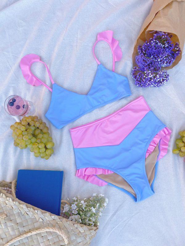 Bikini girasol azul