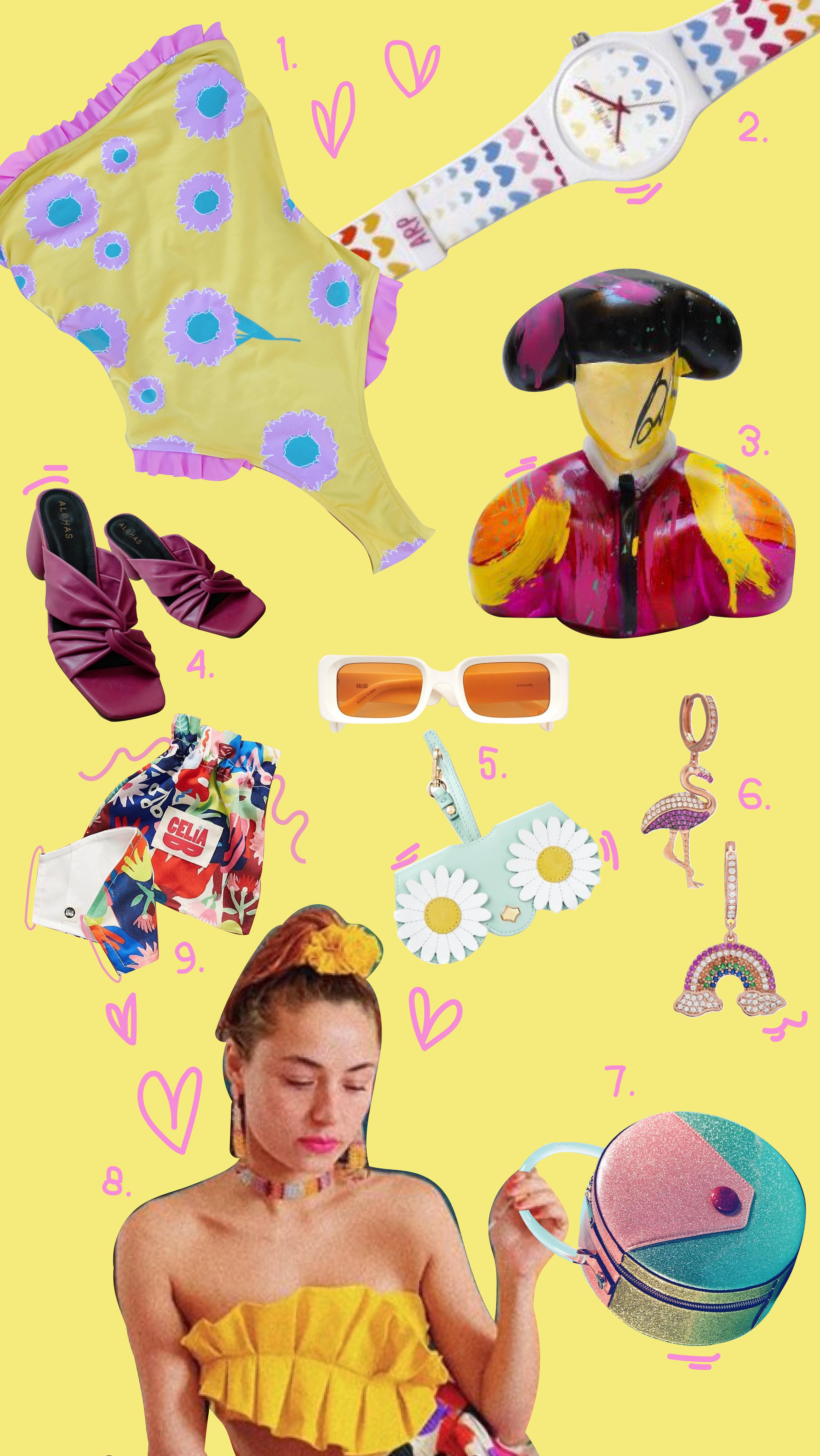 Collage color amarillo